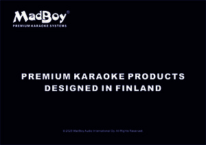 Download MadBoy® Premium Karaoke Systems Designed in Finland Catalog