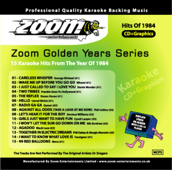 Zoom Karaoke Golden Years 1984 (CD+G)