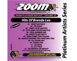 Zoom Karaoke Platinum Artists: Brenda Lee (CD+G)