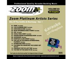 Zoom Karaoke Platinum Artists: Smiths & Morrissey Vol.1 (CD+G)