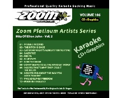 Zoom Karaoke Platinum Artists: Elton John Vol.2 (CD+G)
