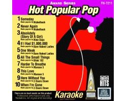 Hot Popular Pop CD+G