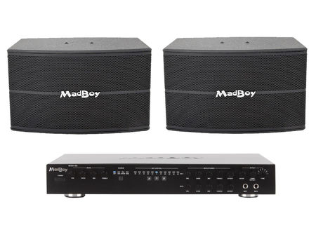 MadBoy® BOOST-202 DIGITAL KARAOKE MIXING AMPLIFIER
