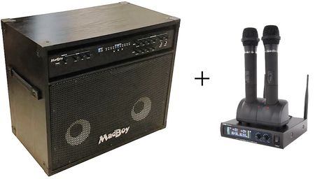 MadBoy® MINI MANIAC PA 2 - PORTABLE SOUND SYSTEM WITH DIGITAL INPUTS